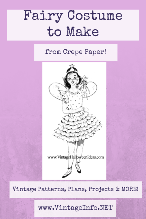 How to Make a Fairy Costume http://vintageinfo.net/fairy-halloween-costume-to-make/