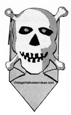 Skull Paper Bag Mask