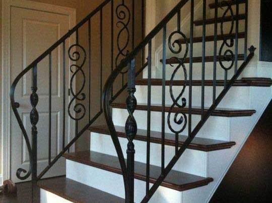 interior stair railing