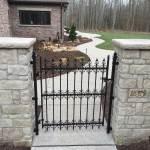 iron and stone gate