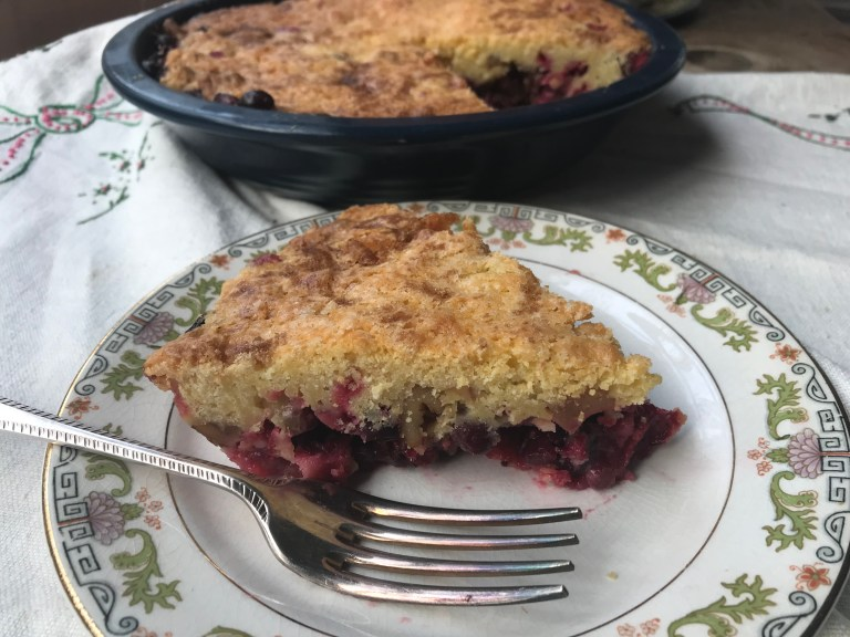 Nantucket Cranberry Pie a New England tradition.