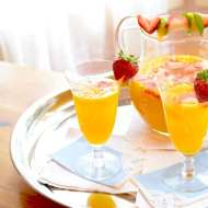Easy Mango Mimosas