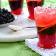 Mulberry Lemon Gin Fizz