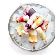 Fruity Yogurt Parfait Popsicles