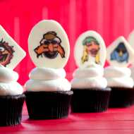 Muppets Cupcakes & Easy Vanilla Buttercream