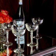 Find of the Week- Fostoria Holly Champagne Coupes