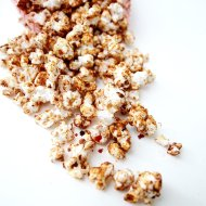 Mexican Spiced Hot Chocolate Popcorn
