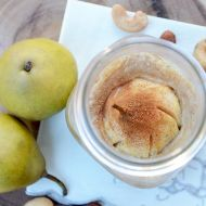 Nutty Pear Crumble- Vegan and Gluten Free
