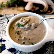 Cream of Mushroom Soup from scratch