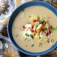 Celery Root and White Bean Soup