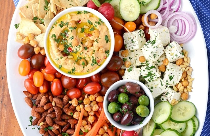 Zesty Harissa Hummus Recipe + Platter Ideas