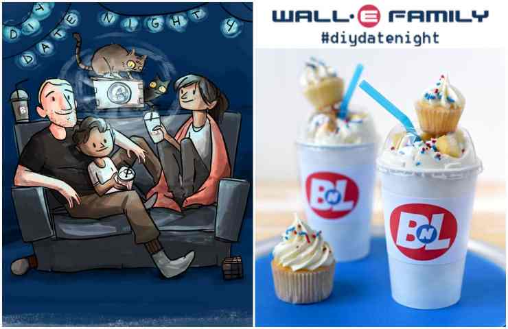 Wall-e Family #diydatenight