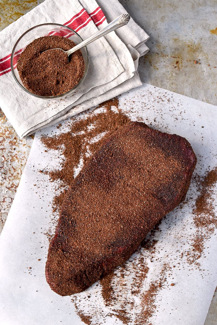 London broil dry rub