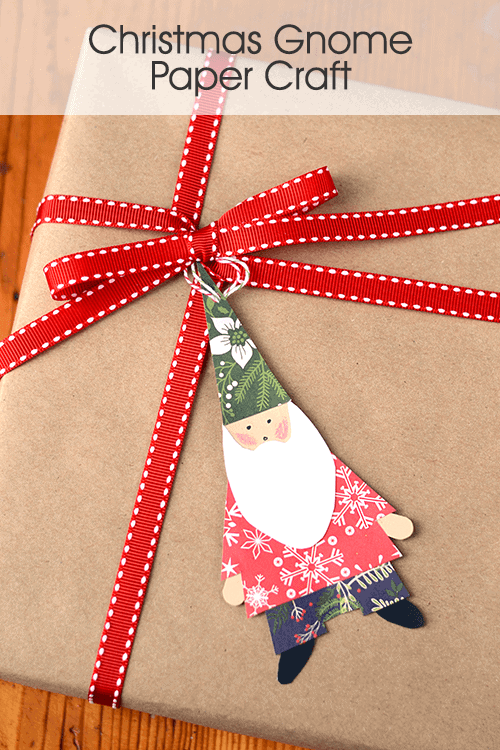 Christmas Gnome Paper Craft
