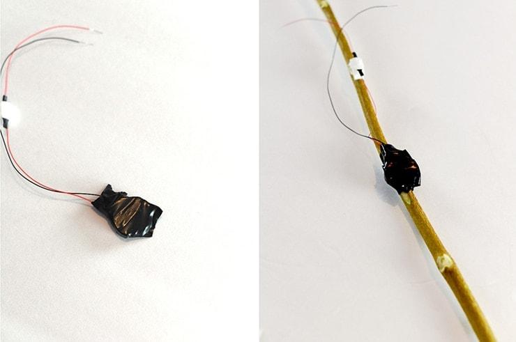 batería cubierta de cinta aislante