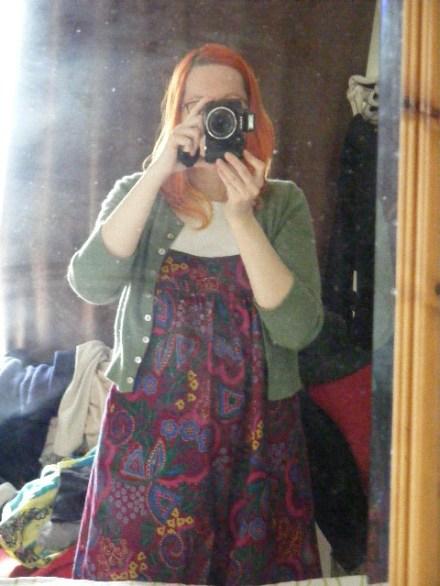 Dress first ever purple multi pattern (3)