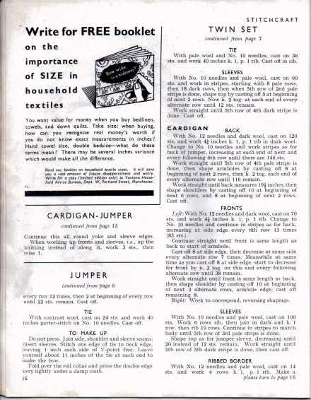 Stitchcraft Aug 194613