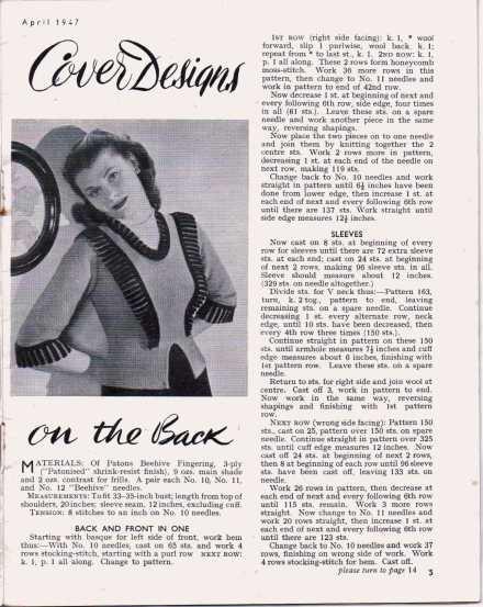 Stitchcraft April 19474