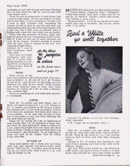 Stitchcraft May 194710