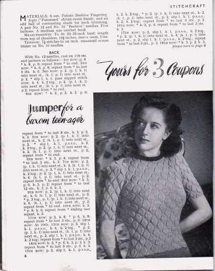 Stitchcraft August 19475
