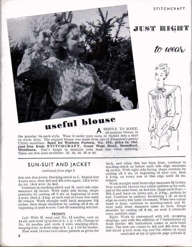 Stitchcraft April 1947 5