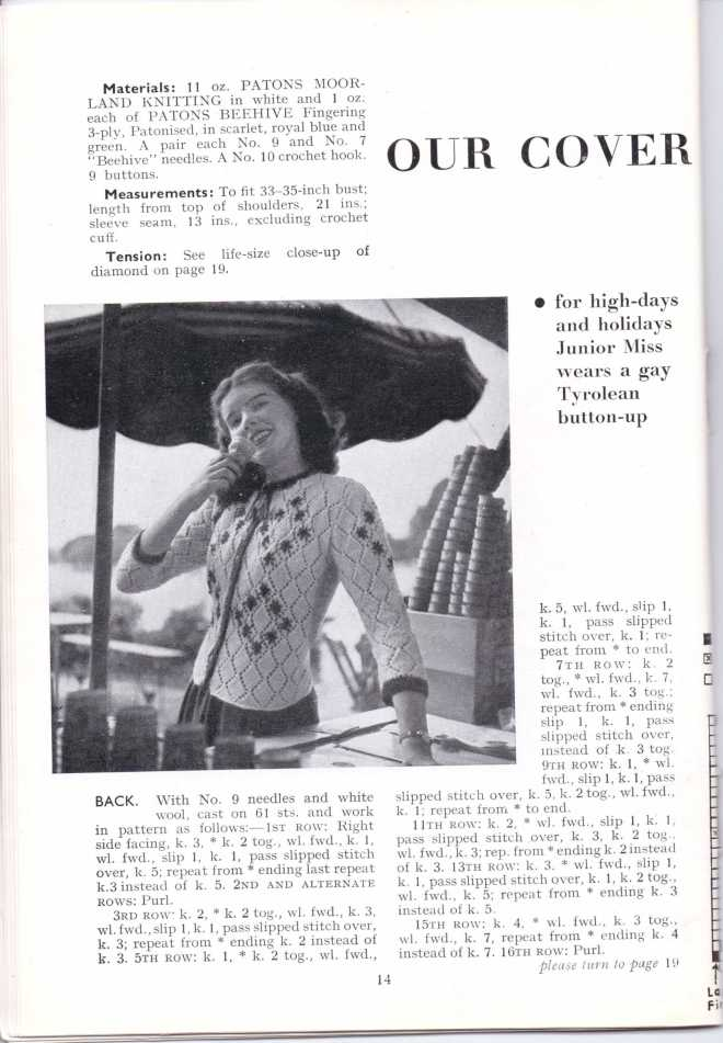 ForTheJuniorMiss Stitchcraft 1940s magazine scan 40's  p14