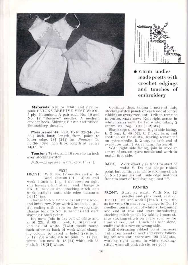 ForTheJuniorMiss Stitchcraft 1940s magazine scan 40's p 20
