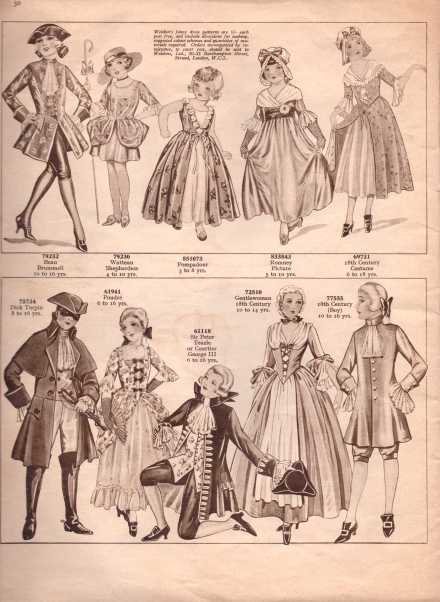 Weldon's Fancy Dress25