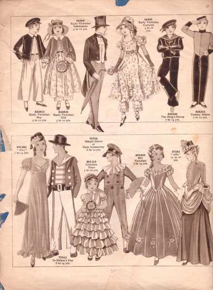 Weldon's Fancy Dress26