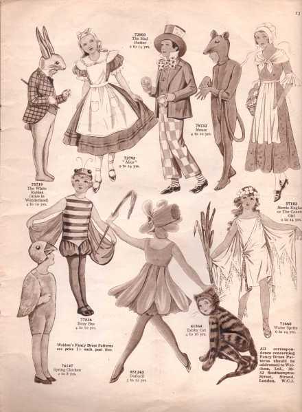 Weldon's Fancy Dress6