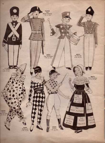 Weldon's Fancy Dress7