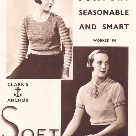 c68310183 Free Vintage Knitting Pattern – Two Seasonable and Smart Jumpers from 1933