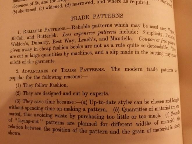Advice on choosing a vintage pattern