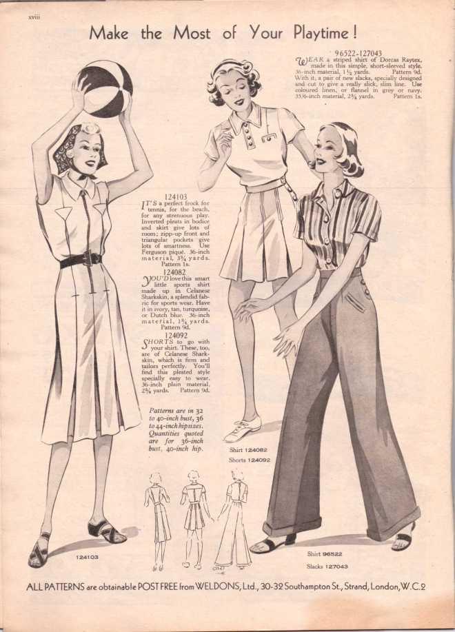 Weldon's Ladies Journal 1938 free knitting pattern19