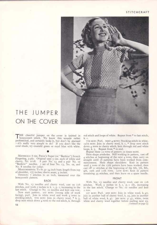 Stitchcraft May 193717