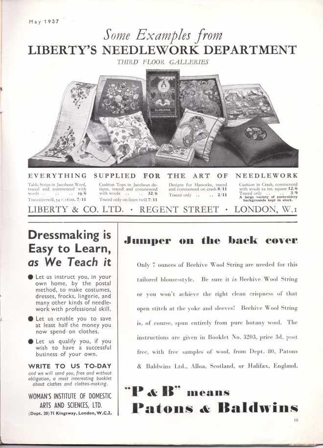 Stitchcraft May 193741