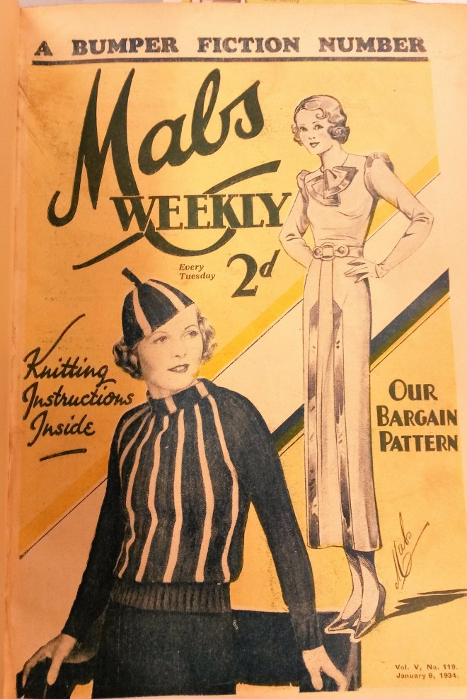 Free Vintage Knitting Pattern: Radiant Jumper from Mab's Weekly