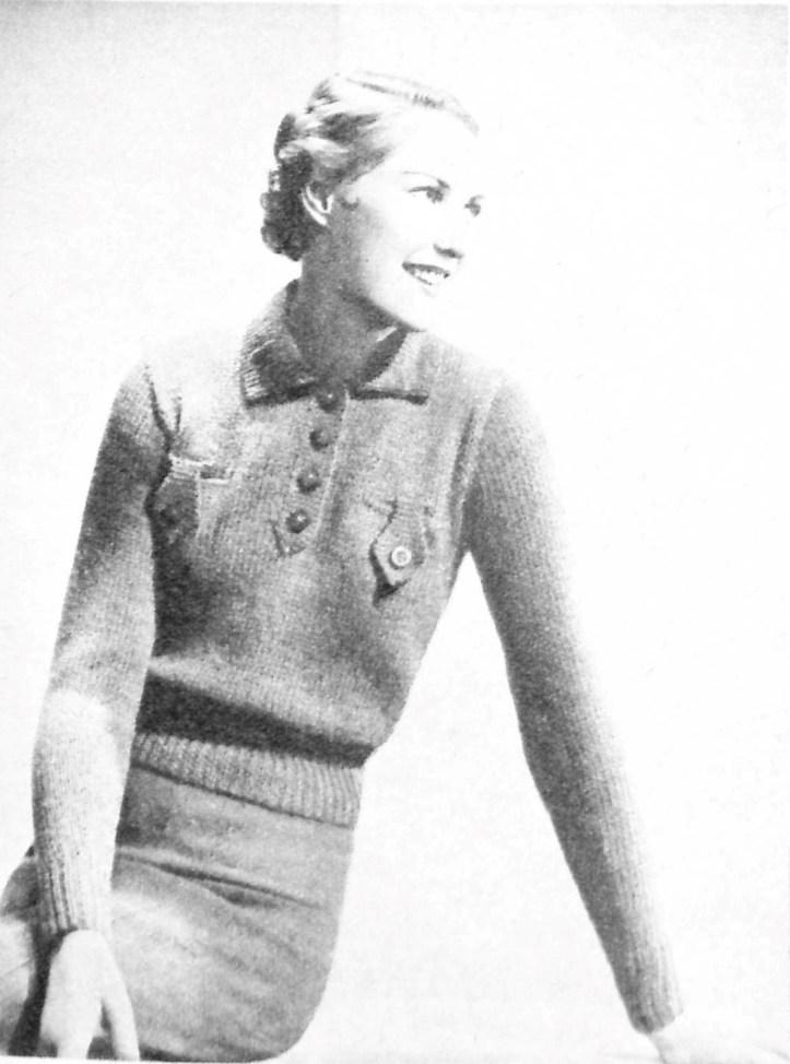 Easy to Knit free vintage pattern Weldon's Ladies Journal