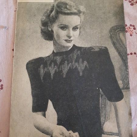 Fair Isle And Colourwork Knitting Patterns Vintage Knitting