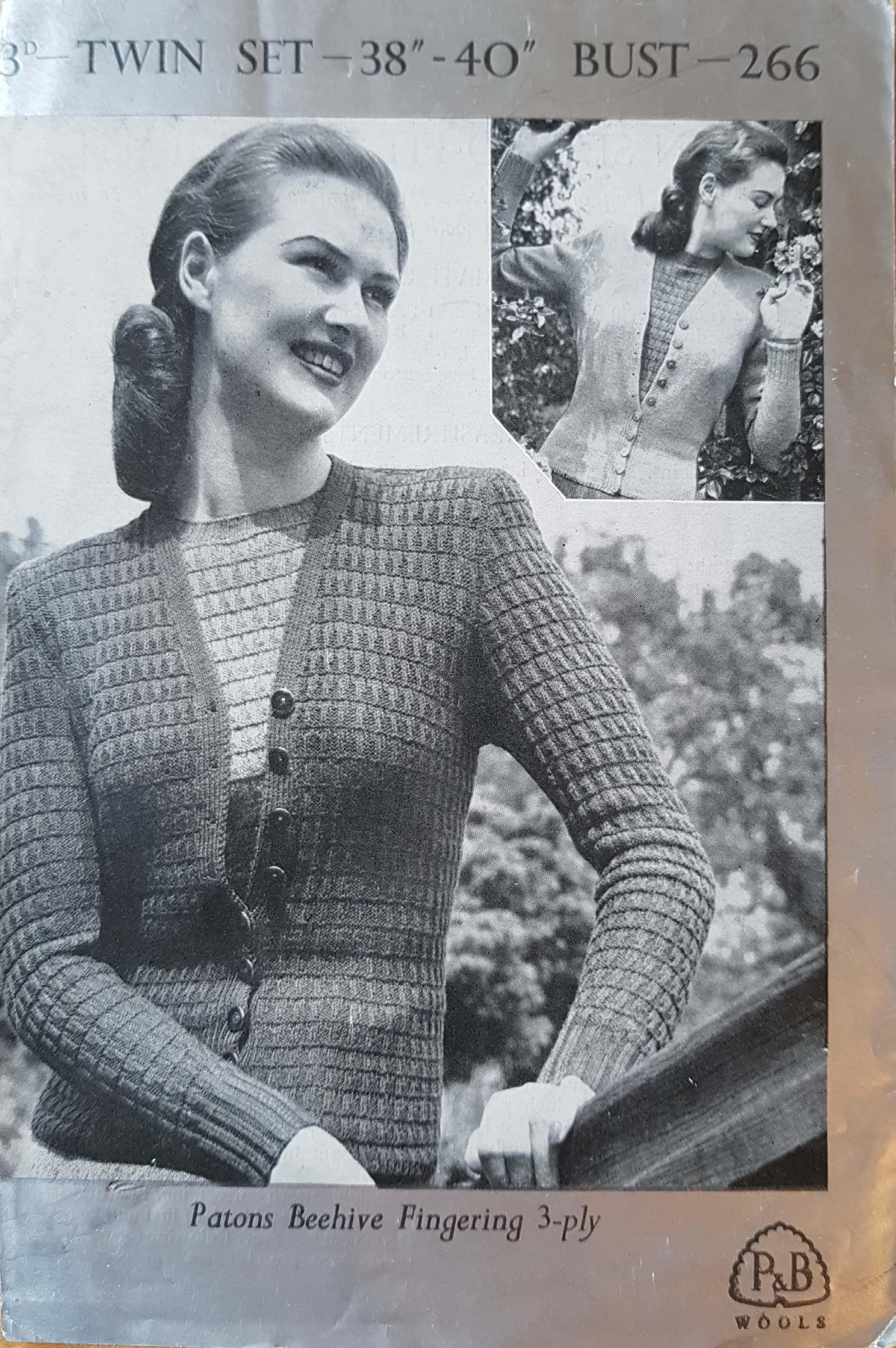 free vintage patterns – Vintage Knitting Pattern Archive