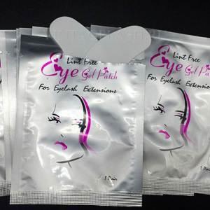 Бумажные безворсовые наклейки под глаза (пара)