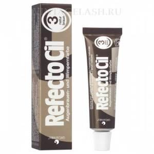 Краска для бровей и ресниц RefectoCil (коричневая) №3