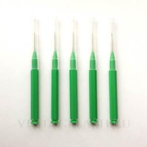 Щеточка бейби-браш (Baby Brush) зеленая 0,8 мм, 5 шт.