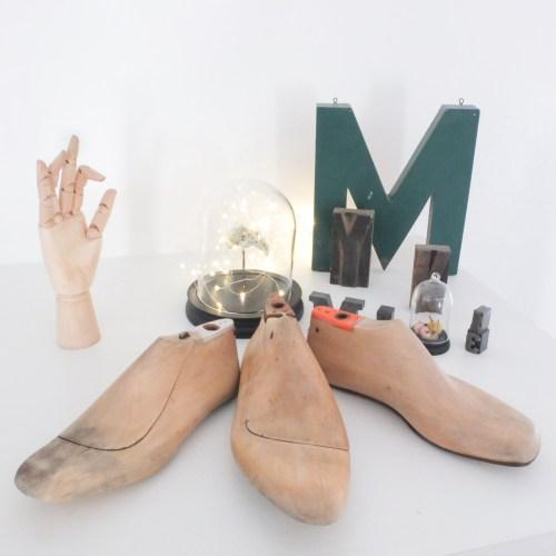 formes à chaussures en bois