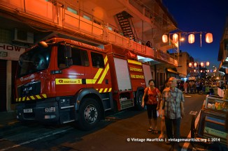 Port Louis China Town Mauritius Festival Fire Dept
