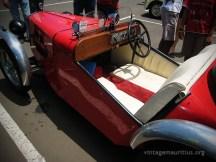 Austin 7 Red Side