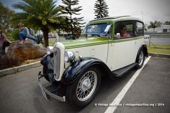 Austin Seven Classic Vintage Car Mauritius