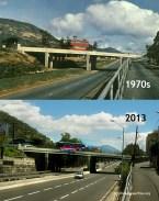 Bell Village Flyover - 1970s/2013