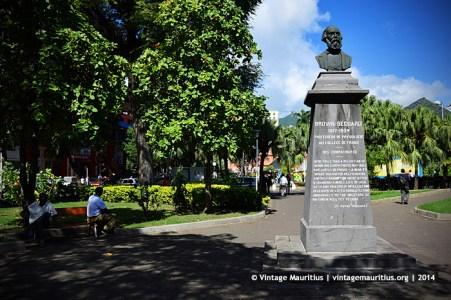 Brown Sequard Monument Company Garden Port Louis