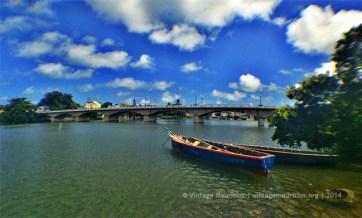 Cavendish Bridge from Ville Noire
